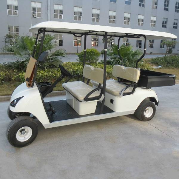 Improved 4 seater electric golf cargo cart