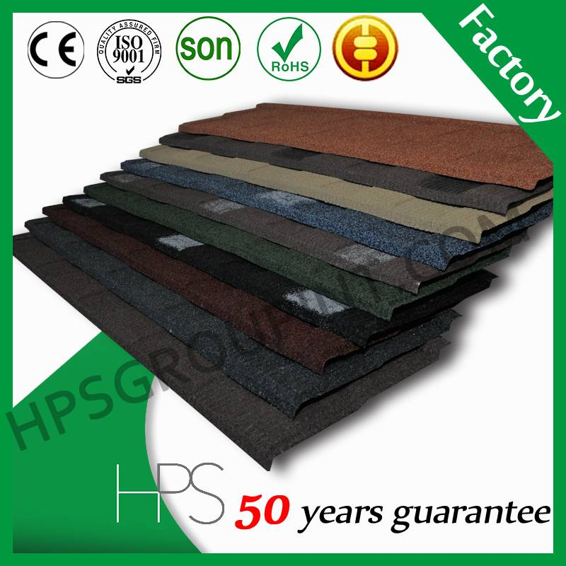 SONCAP Certificate Shingle types of roof tiles/stone coated metal roof