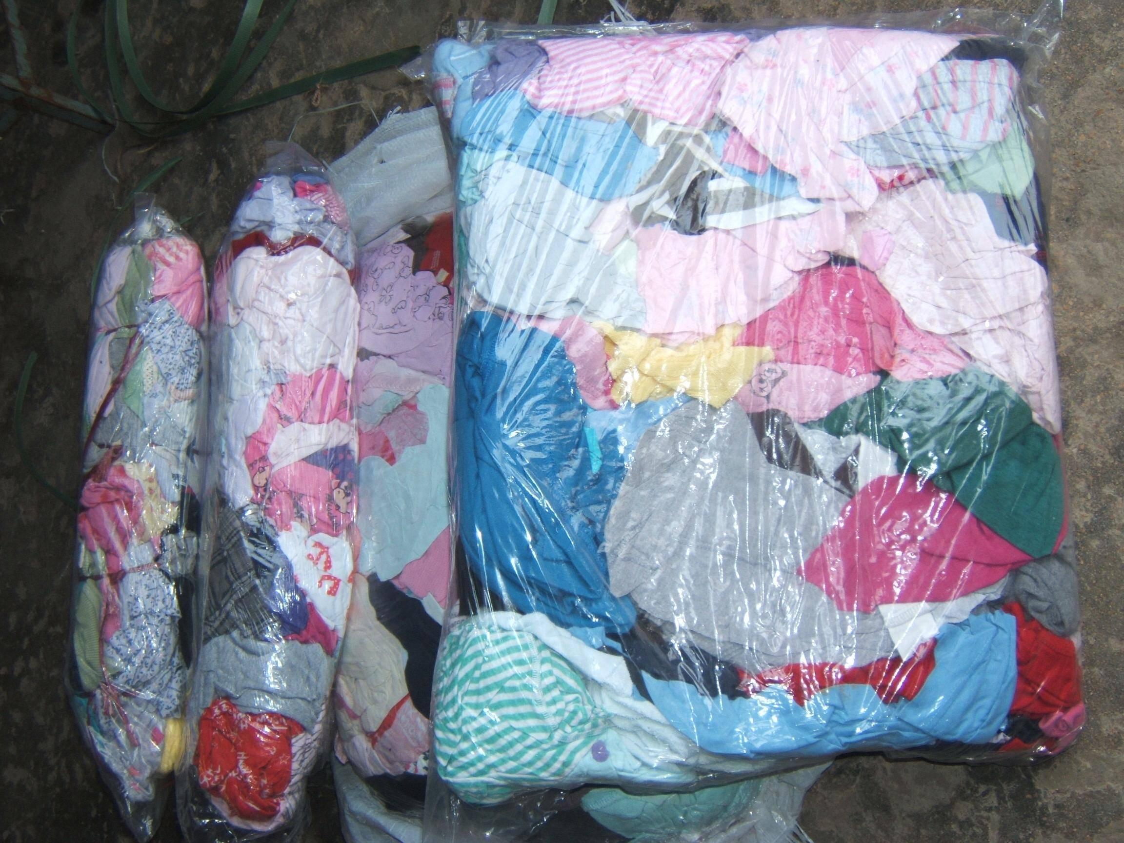 Color knit T shirt Rags