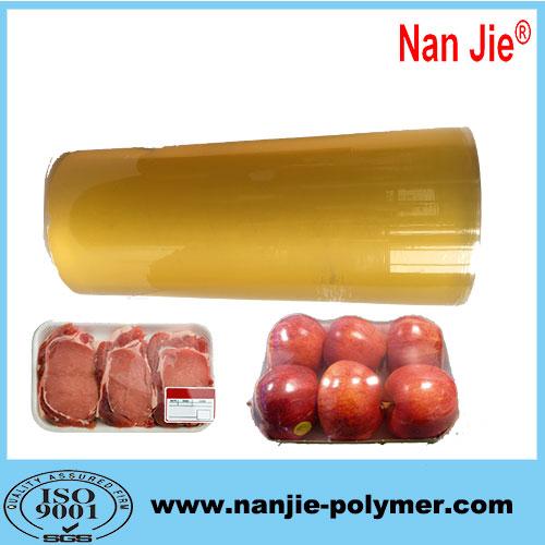 Nan Jie food grade pvc soft film 1500m long meter