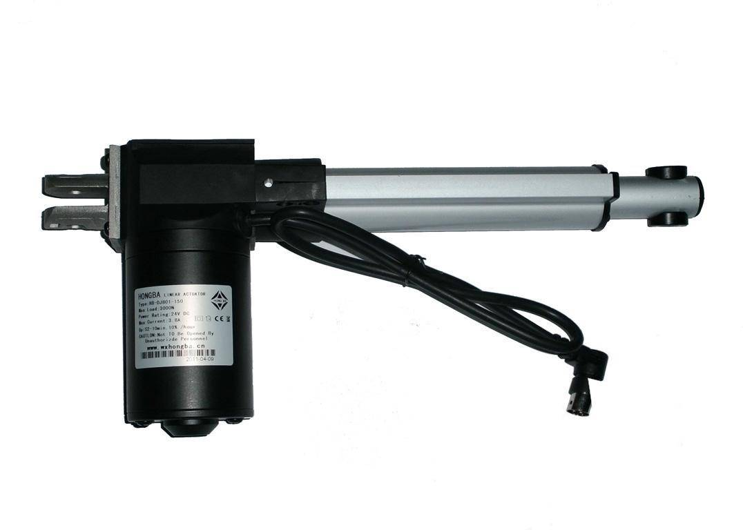 linear actuator for electric armchairs