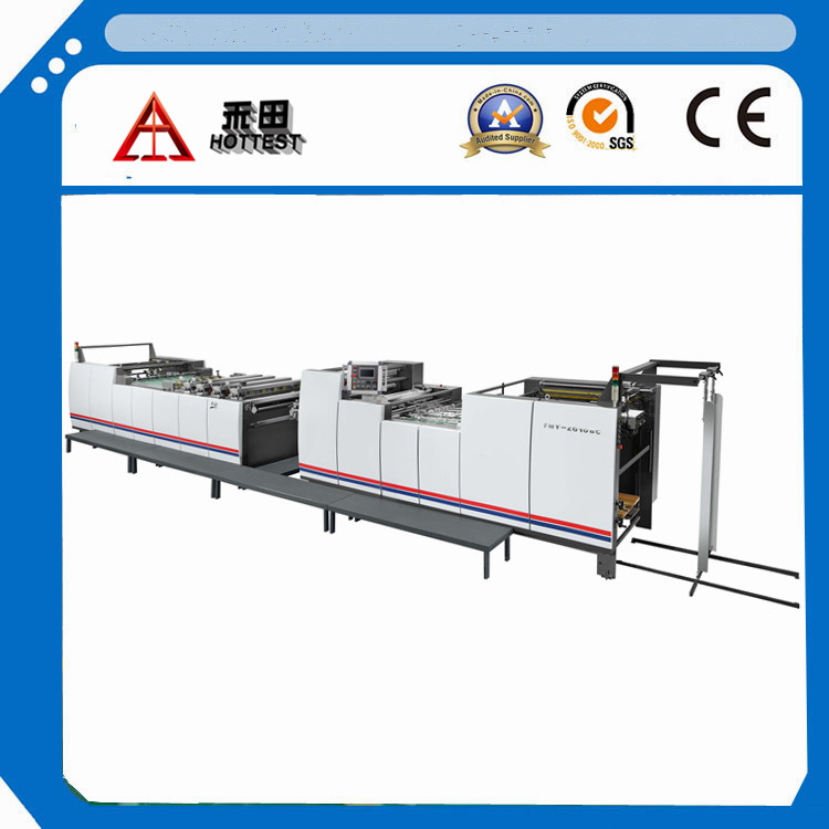 FMY-ZG108L Automatic pre-coating thermal laminating machine with chain knife