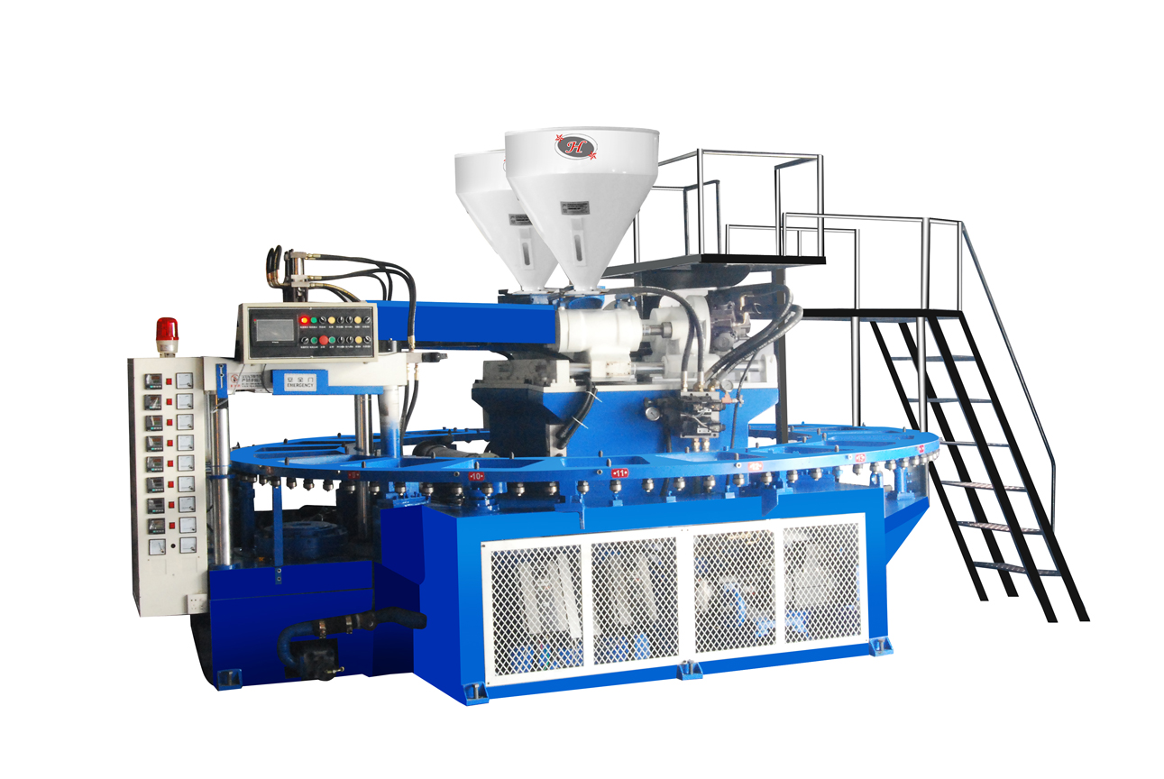 Two Color Mixed PVC Jelly Shoe Injection Molding Machine