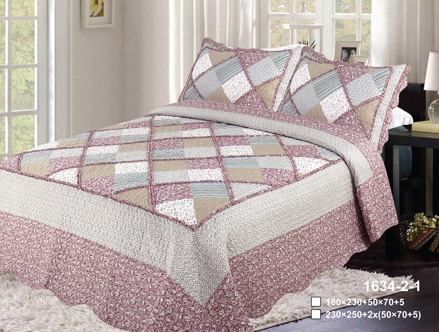 Cotton Quilt with ruffle