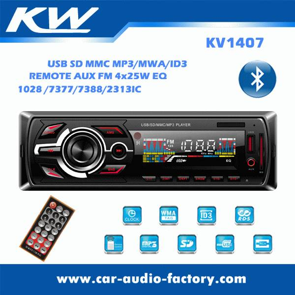 KV1407 Car MP3 player with EQ Function