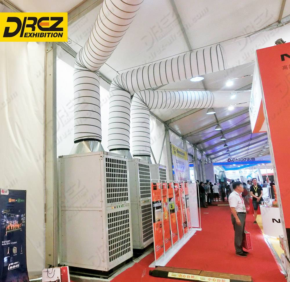 Drez 10 ton AC Unit Portable AC Unit for Large Tent Events Anti-60 Degrees for Hot Countries