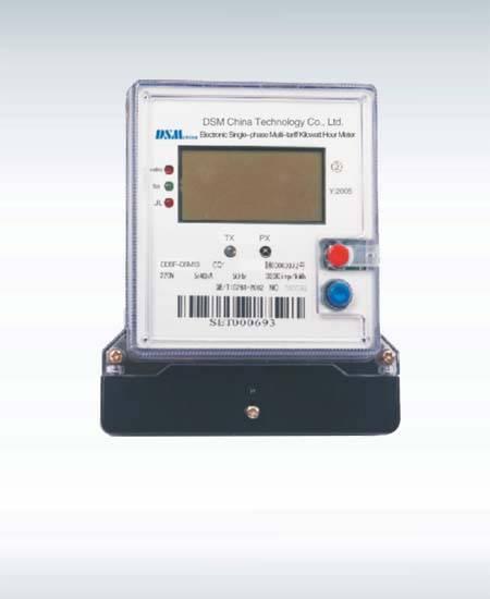 Electronic Single-phase Multi-tariff Kilowatt Hour Meter