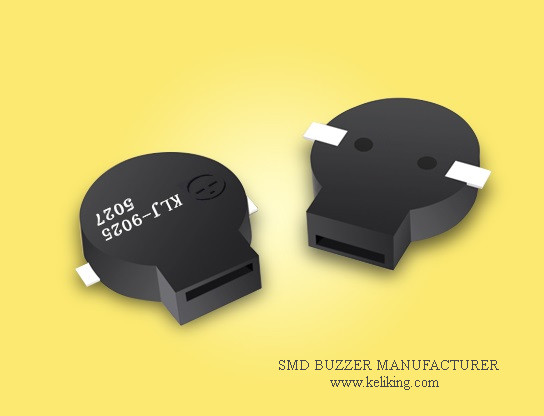 SMD Buzzer Magnetic Surface Mounted Buzzer L10.5mmW9.0mmH2.5mm KLJ-9025-5027