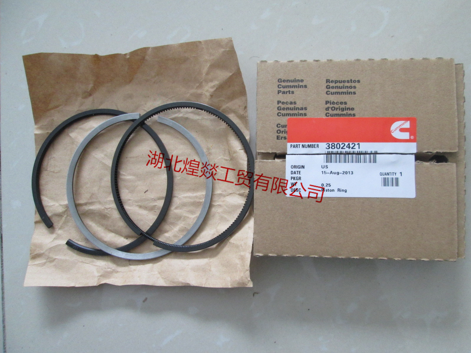 Cummins Engine Piston Ring3802421