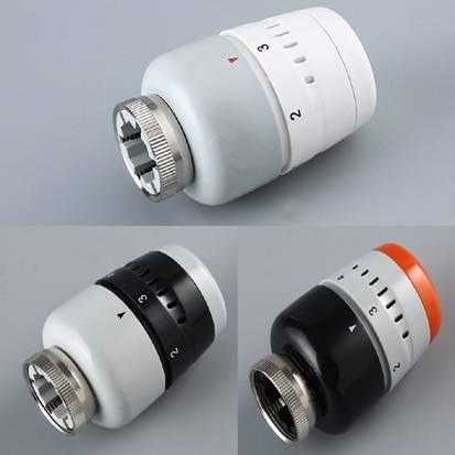 thermostatic head and radiator valve