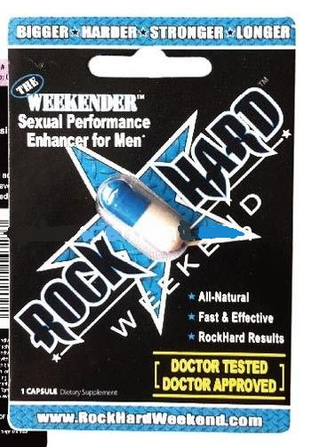 Rock Hard Weekend Sex Pills