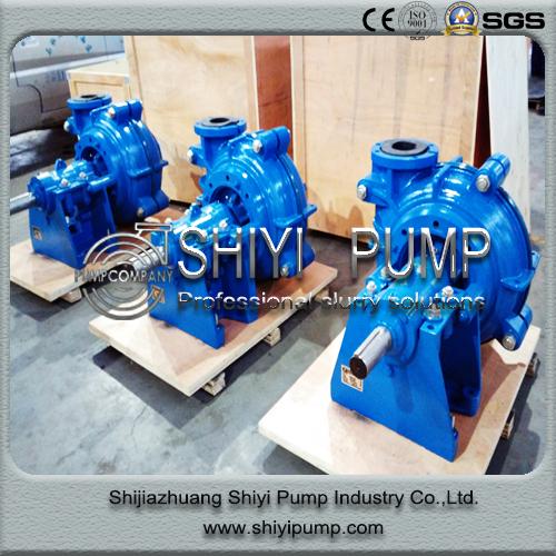 Hh Series Anti-Abrasive High Head Water Treatment Slurry Centrifugal Pump