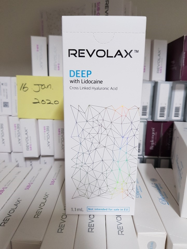 Revolax Deep Fine or Sub-Q Cross Linked Hyaluronic Acid Dermal Ha Filler Competitive Price Factory