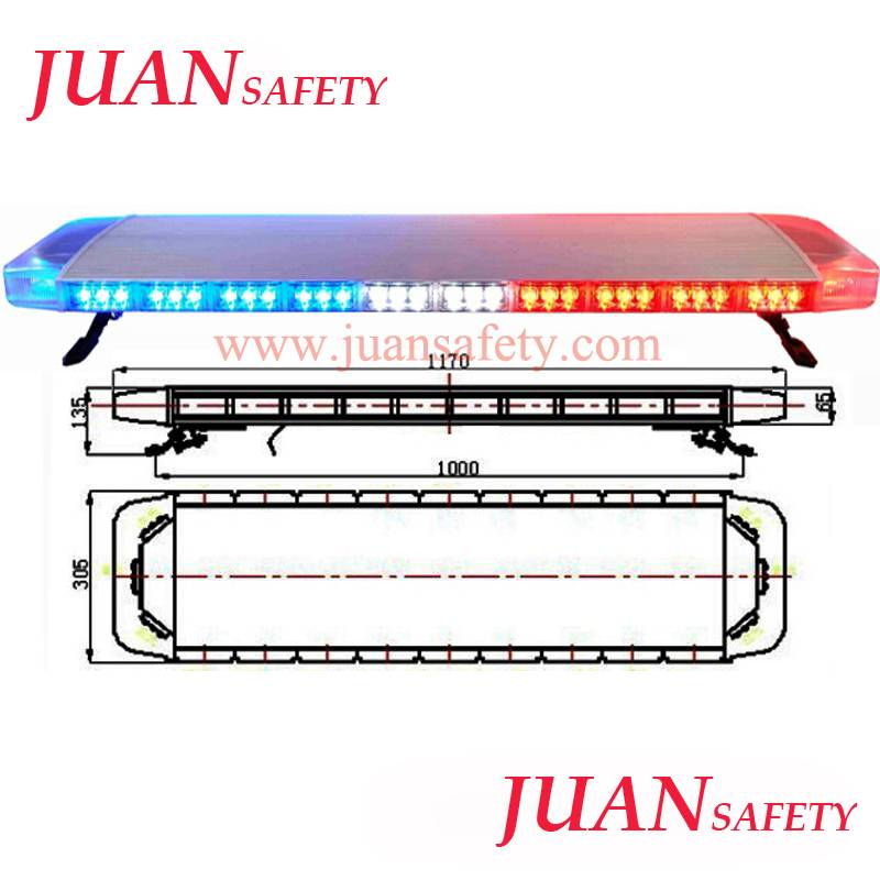 Hot sales LED emergency Light Bar LED Flashing Warning Lightbar TBD2158