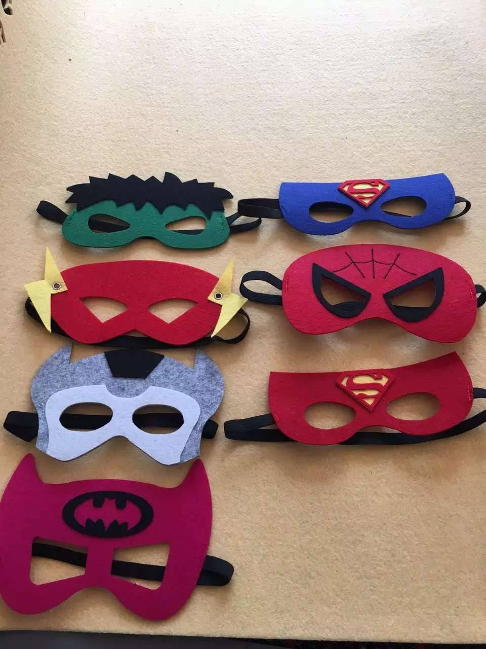 Ployester Felt Party Mask with Cheap Price