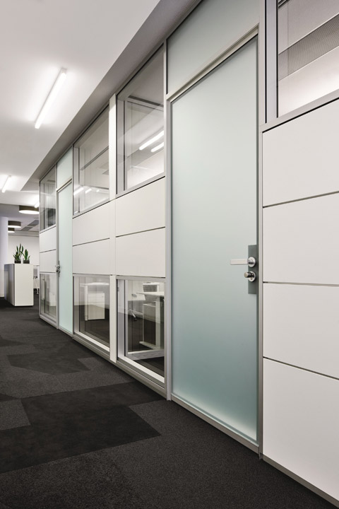 Furniture Aluminium Office Workstation Partition Using Divied Cubicle Soundproof Wall