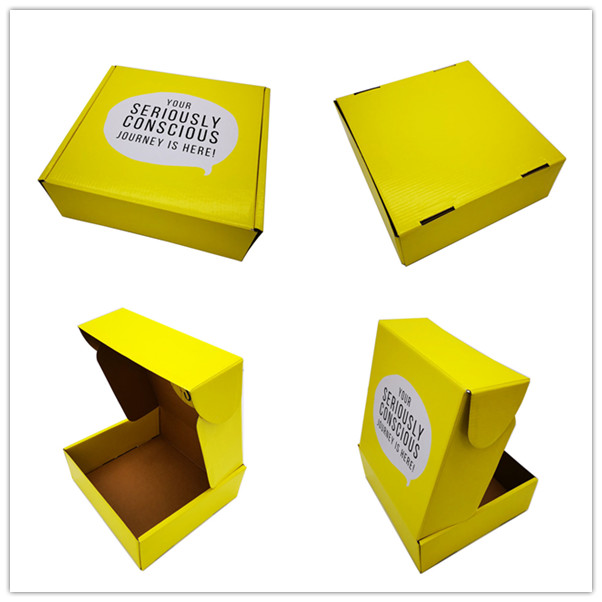 Eco friendly custom corrugated mailer box