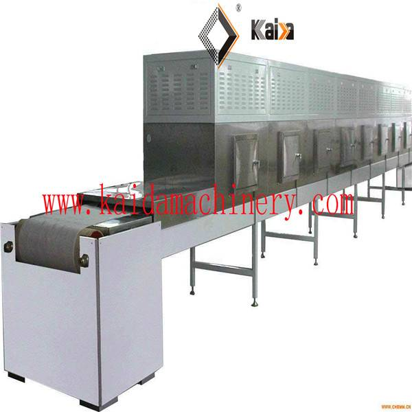Continuous Grain Microwave Dryer/Drying machine