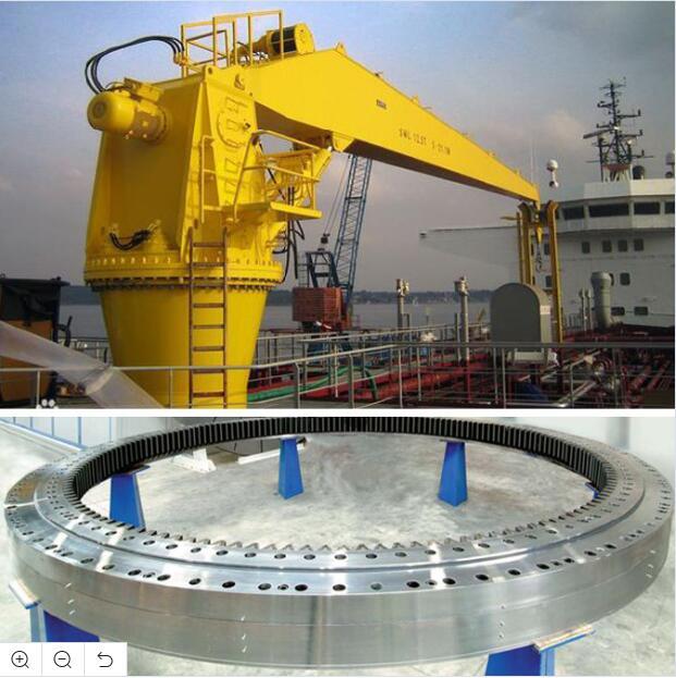 Slewing Ring Bearings for Deck Crane (133.45.2500), 42CrMo material