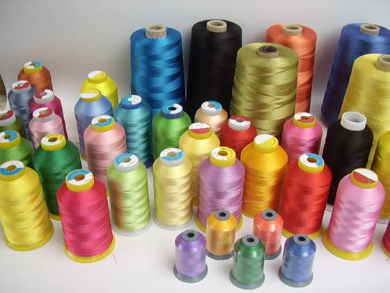 100% POLYESTER SEWING THREAD COLOR 20/2