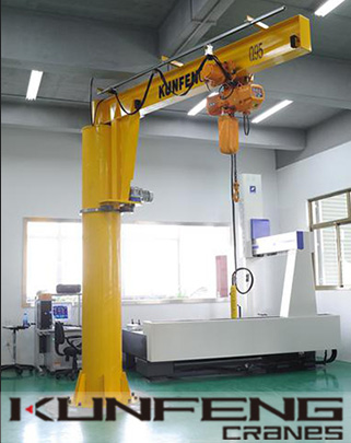 Introduction to the types and characteristics of cantilver jib cranes