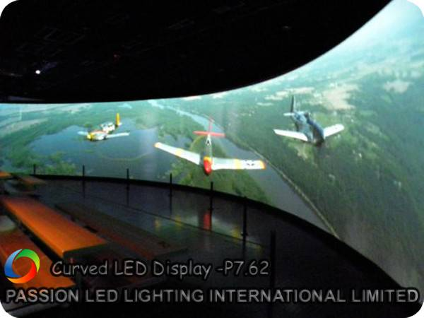Curved LED Display With High Quality