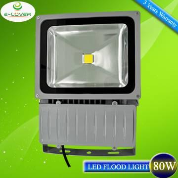 CE/RoHs Bridgelux COB IP65 outdoor 80W led flood light