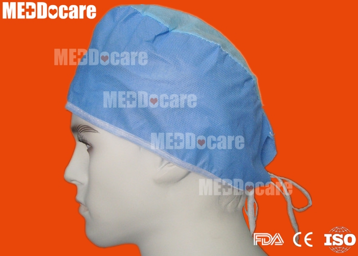 hospital surgical surgeon disposable sms non woven doctor cap