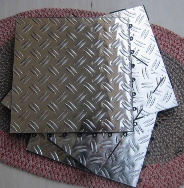 garage aluminum floor tile