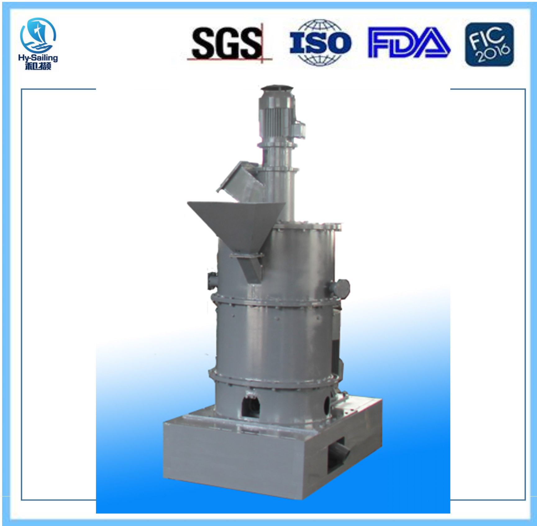 SHM High speed Impact grinding machine Specially for superfine powder