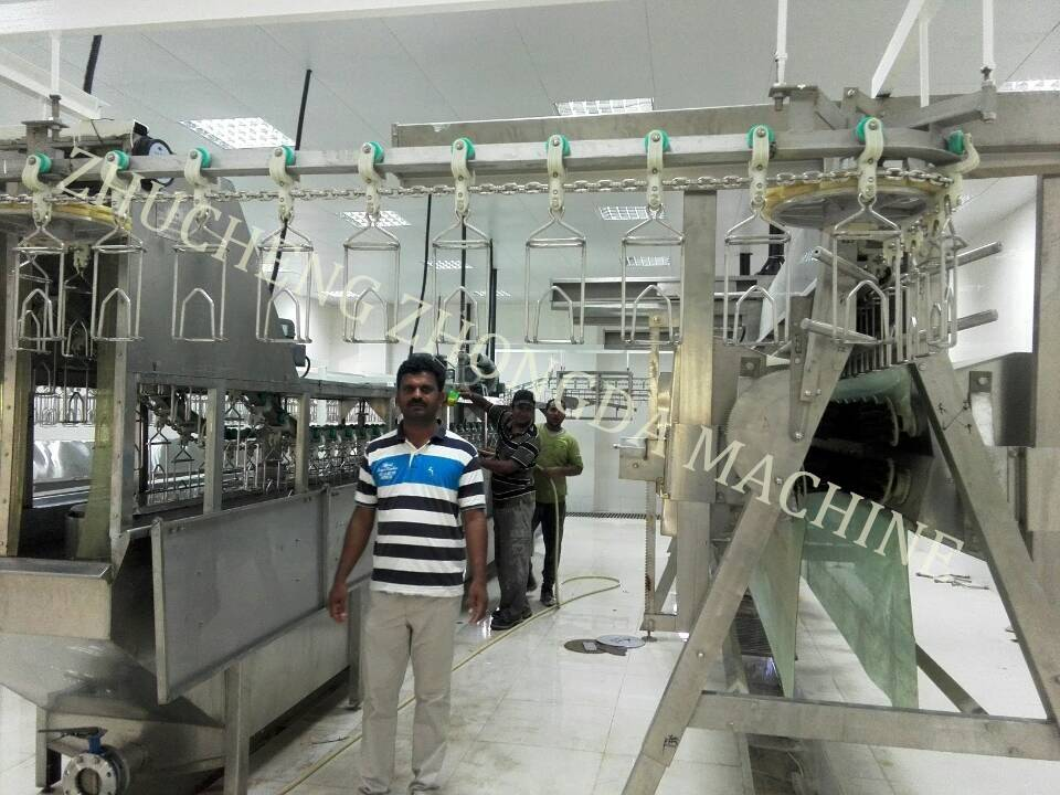 Chicken butchery House Production Line