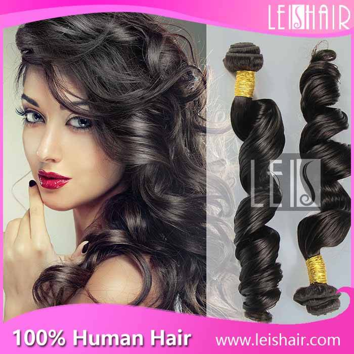 Hot selling 5A grade virgin peruvian loose wave hair