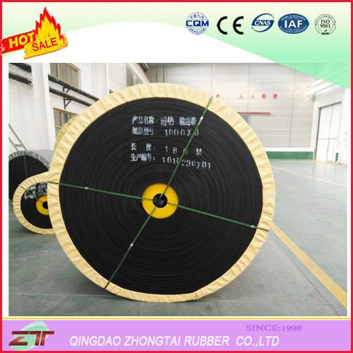 Heat Resistant Rubber Flat Conveyor Belt