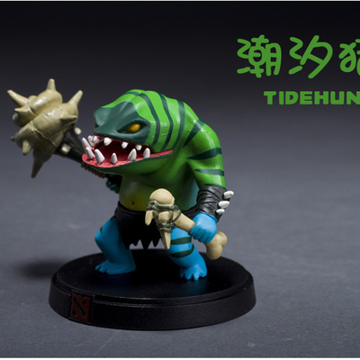 Customized action figure toys DOTA Tide Hunter