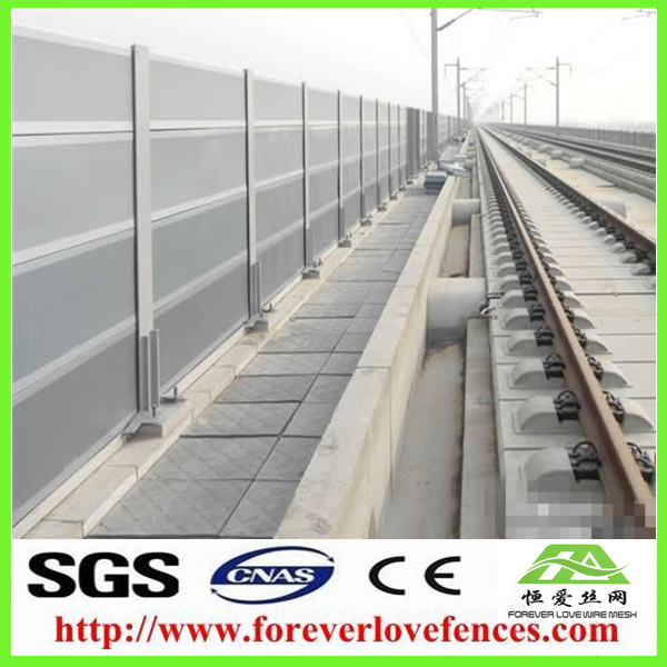 sound/noise barrier for highway/railway