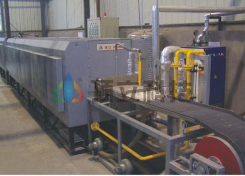Mesh Belt Steam Treatment Furnace
