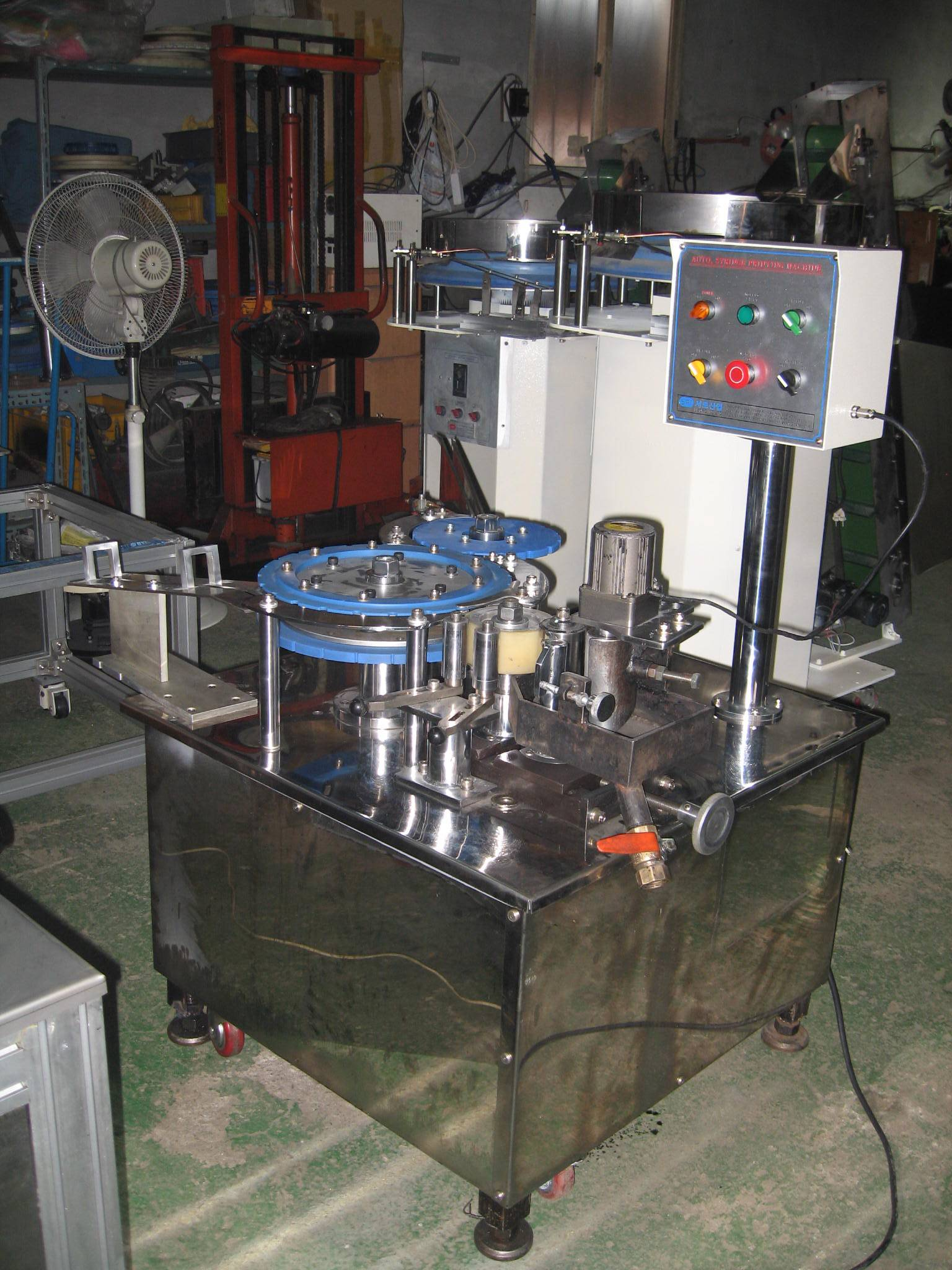 Syringe printing machine