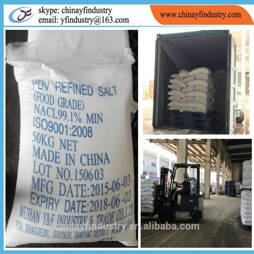 Pure vacuum dried salt