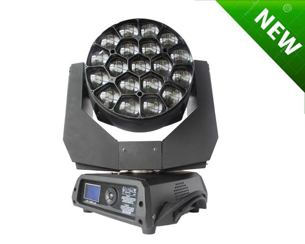 2015 The Newest Big Eye Rotating Panel 19x15W 4IN1 RGBW LED Moving Head Light 5%off Free Shipping