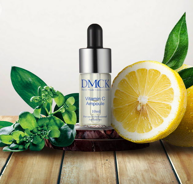DMCK Whitening Vitamin C Ampoule - dull & faded skin facial ampoule