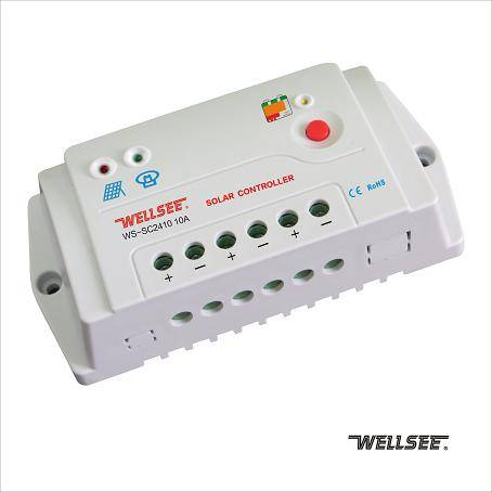 NEW Released Wellsee WS-SC2410 12V/24V 10A power systems solar controller