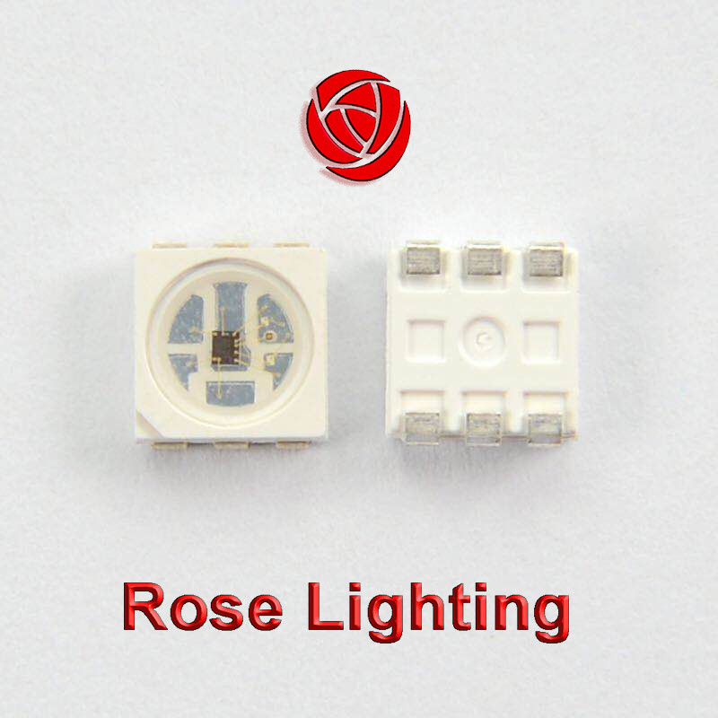 HD107s pixel rgb 5050 led chip with PWM refresh rate:>26kHz, Oscillator frequency: 40Mhz
