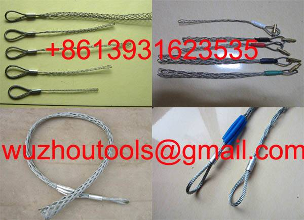 Wire Cable Grips,Cable hauling,Mesh Grips
