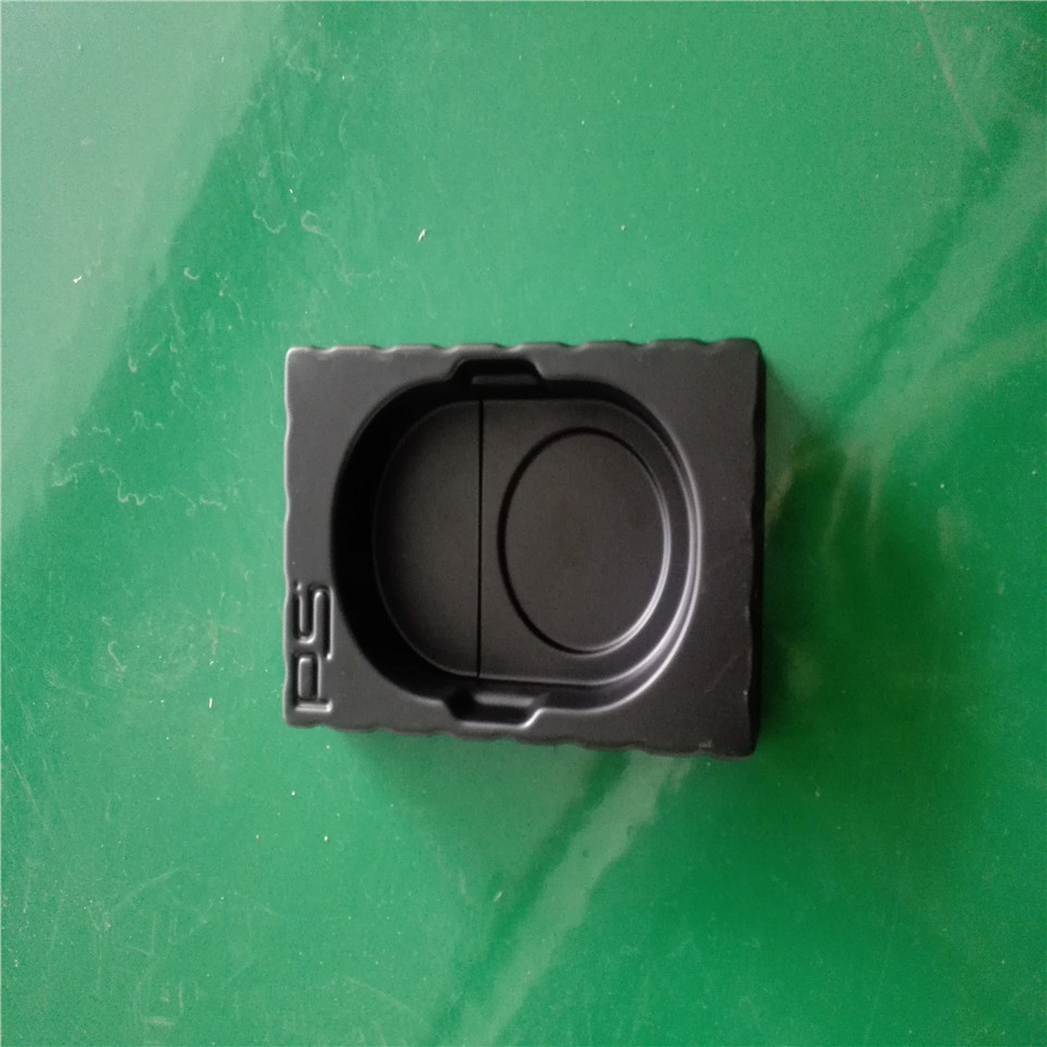 Customized High quality Black Vacuum forming PS Plastic Packaging Inner trays