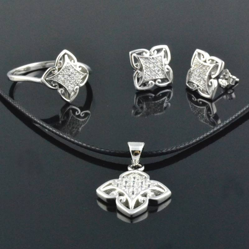 Wholesale 925 Silver Fashion Jewelry Sets