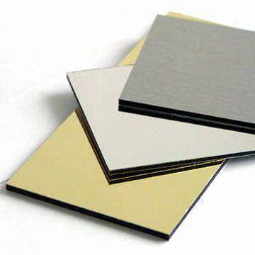 PE coated Aluminum plastic composite panel