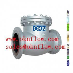 13  Carbon steel flange RF RTJ check valve