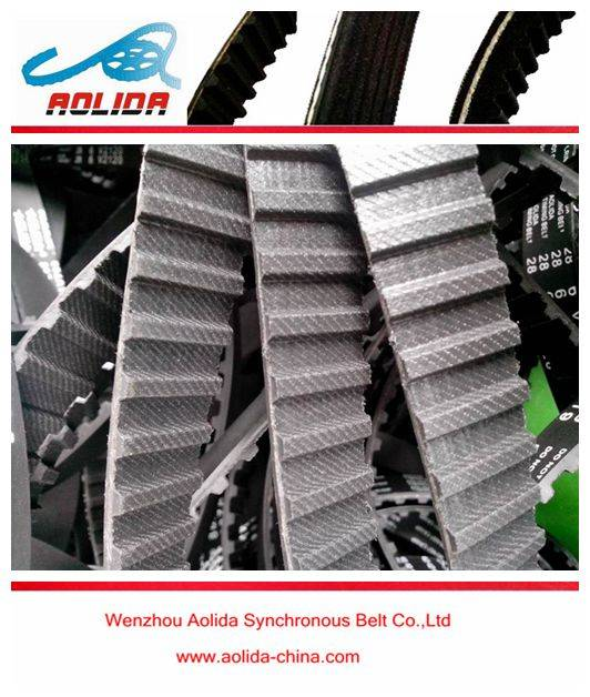 Auto Timing Belt 122ZA19 Automobile/Automotive Synchronous Belt for Ford Lada Mitsubishi FIAT Engine