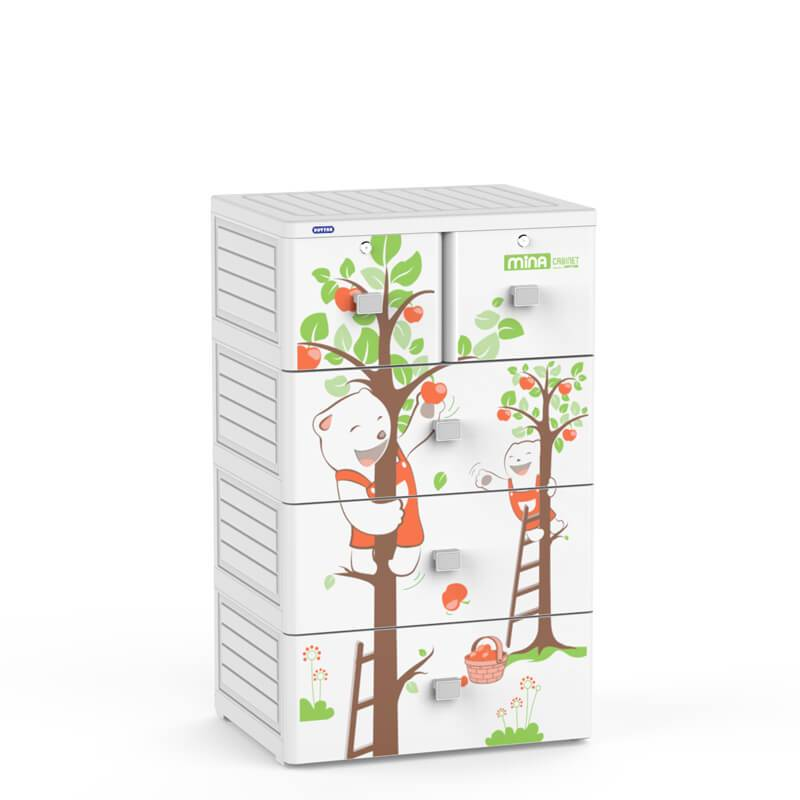 ABS  Plastic Storage Cabinet Duy Tan Plastics