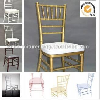SinoFur resin chiavari chair